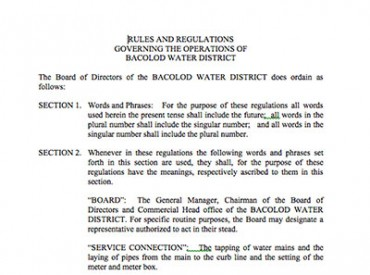 BWD Operations Manual