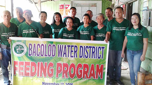 Bacolod Water District Feeding Program 2016